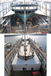 Shrink Wrap Protects Historic Vessel During Repairs