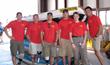 William Gibson and the Semper Fi Team in June, 2007.