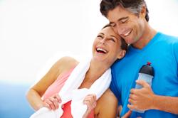 Alkaline water is a healthy alternative to acidic sports drinks.
