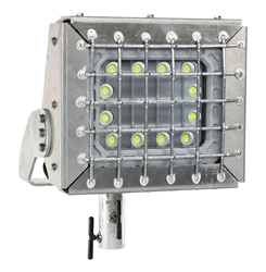 Class 1 Division 1 & 2, Class 2 Division 1 & 2 Pole Top Slip Fitter LED Light Fixture