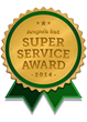 My Smart Security earns Angie's List 2014 prestigious Super Service Award for outstanding customer satisfaction.