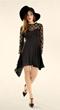 Organza Dress, Overlay Dress, Polka Dot Dress, Chiffon Dress, Skater Dress