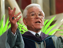 Legendary Christian Spiritual Leader Reverend Robert H. Schuller Receives Petition of the Month from the Supreme Court Press