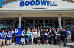 Goodwill Manasota supporters during the ribbon-cutting for Goodwill's 'Ranch Lake' grand opening
