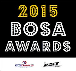 2015 BOSA Awards Logo - Best Of Show Arcade Machine Awards Logo