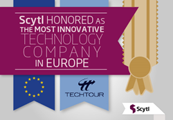 Scytl Honoured as the Most Innovative Technology Company in Europe