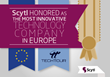 Scytl Honored as the Most Innovative Technology Company in Europe