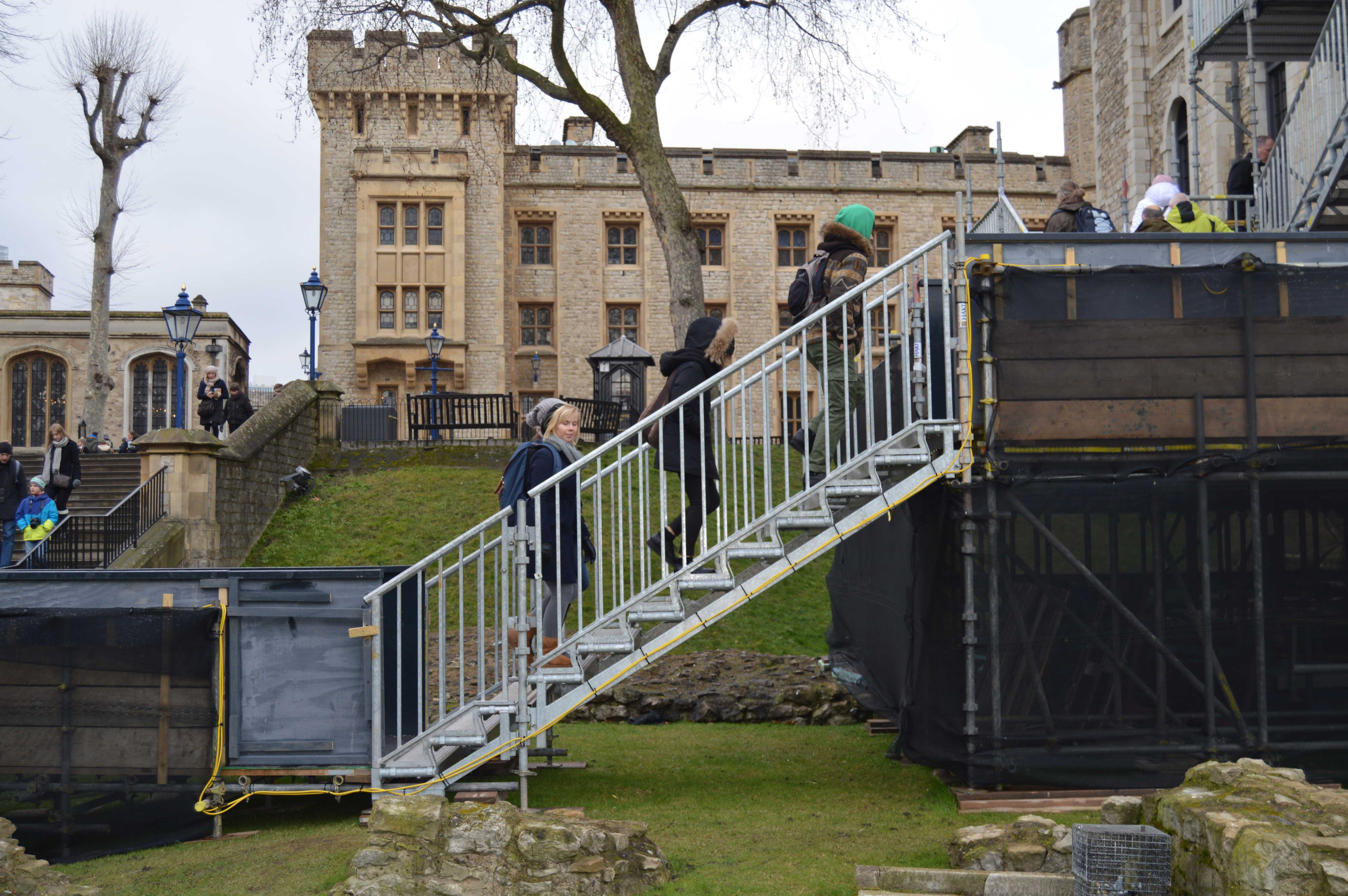 Haki Public Access Stair Takes Tourists Up To The Tower Of