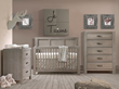 Mix and Match Gray Crib Bedding
