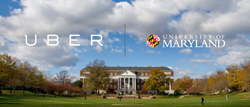 The University of Maryland partners with Uber to foster mission of innovation and entrepreneurship