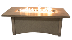 Pine Ridge Gas Fire Pit table
