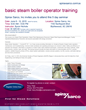 Spirax Sarco's Basic Steam Boiler Operator Training Course Coming to...