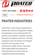 Prater Industries Launches New Website; Debuts New Logo & Brand Identity
