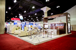 Exhibit Built by Absolute Exhibits at the GBTA Expo