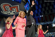 Ted Cruz and his family at Liberty University.