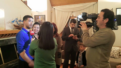 Narconon Turkey graduate interviewed by TV news station