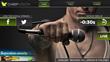 Stadium second screen, close-up, ad insertion, social media integration, sports app