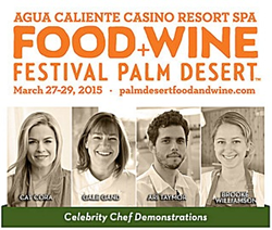 Food and Wine Festival in sunny Palm Desert California