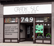 Street View of Crank SLC an urban commuter bicycle shop and home of Loki Cycles