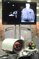 Thermal imaging is among sensing and imaging technologies advanced at SPIE DSS; above, a display in last year's exhibition.