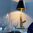 Artemis Table Lamp 50071 in Gold From Zuo Modern