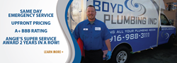 Sacramento Drain Cleaning by Boyd Plumbing, Inc.