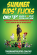 Summer Kids Flicks Kicks Off 8th Season with Family Oriented Films