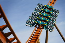 Thunderbird is the nation's first launched wing roller coaster