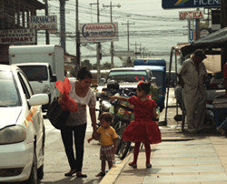A scene from La Voz del Pueblo directed by Fr. Jeremy Zipple, S.J.