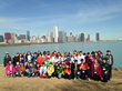 Old Trail School Grade 6 Students in Chicago 2015