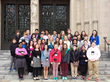 Old Trail School Grade 8 Students in Washington 2015