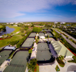 Aerial view of the Tennis Center at Boca West Country Club
