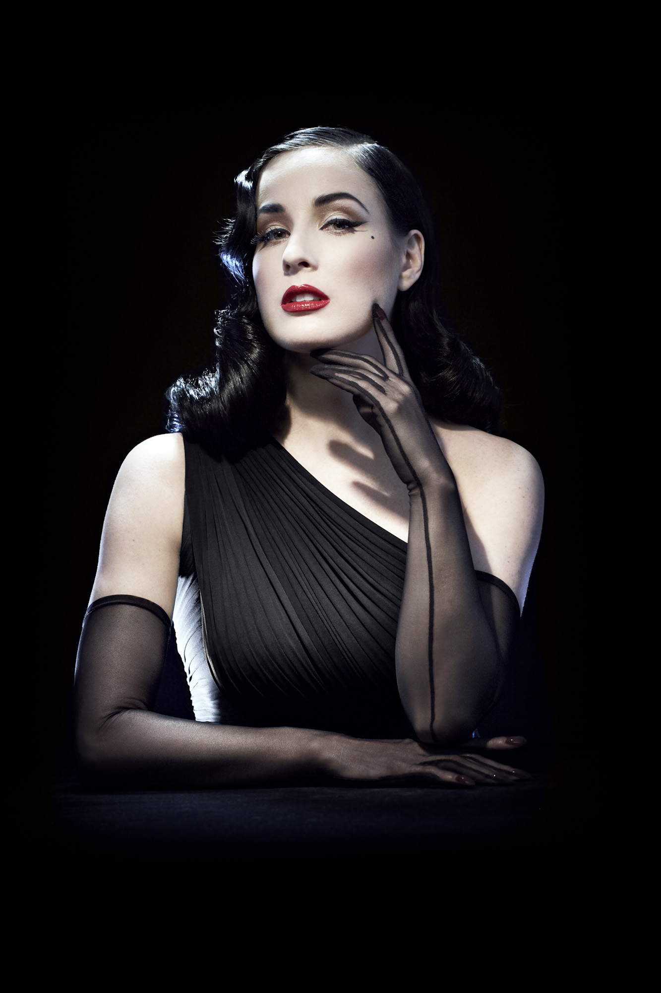 Canyon Ranch Partners with Burlesque Bombshell Dita Von Teese Dita Von Teese