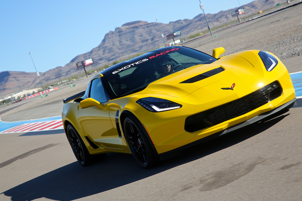 The New 650hp Corvette Z06 At Exotics Racing