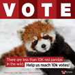Vote for Conserving Red Pandas, Nepal