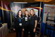 The US Cargo Control Moving Supplies Sales Team, Tonya Kramer, Carla Weeks, and Sarah Watson, take a break during the American Moving & Storage Association (AMSA) Annual Education Conference & Expo.