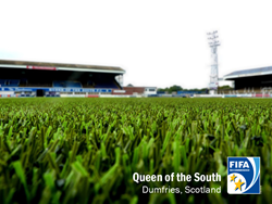 synthetic turf, artificial turf, football turf, FIFA Certified, FIFA Two star, queen of the south, FIFA quality