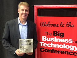 dōTERRA President, David Stirling, Accepts BusinessQ Award