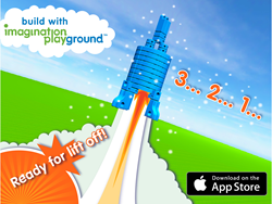Bridge Digital and Physical play with the Imagination Playground 3D builder app.