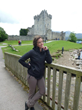 Zoe Wagoner Ross Castle in Ireland