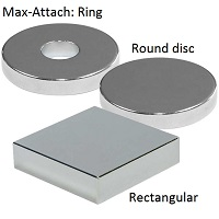 Max-Attach Polymagnets offer stronger magnetic force than conventional holding magnets