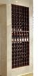 Single wine cabinet