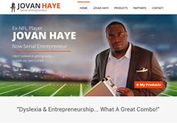 GoHooper Nashville Web Design NFL Player Jovan Haye