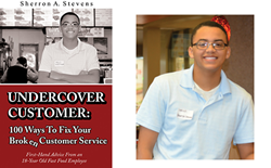 Bookcover and author, Sherron Stevens