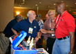 Uniweld booth at the 2015 HVACR Educators and Trainers Conference