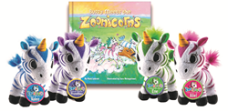 toys, stufies, stuffed animals, children's books, unicorns, zebras, zoo animals, children's literature