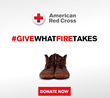 Red Cross Month Motivates 1-800-BOARDUP to Join the #GiveWhatFireTakes...