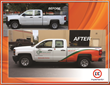 Implementix - ORR Pickup Truck - Before and After New Branding