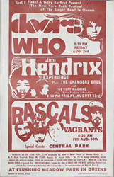 Original 1960's Who psychedelic concert posters