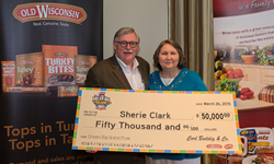 Dream Big Sweepstakes Check Presentation